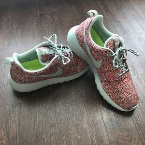Nike Printed Running Shoes - Size 9